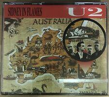 U2 - Sidney In Flames 2 Cd VG+/VG Super Rare Item