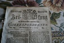 1809 Zeitung 164 / Stettin / von Dresden Adel Aschersleben