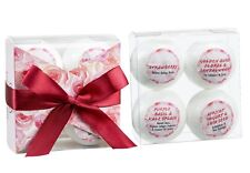 4pcs Bath Bombs - Romantic Sensuous Gift Set