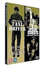 Taxi Driver/Casino/Mean Streets (DVD, 2007, 3-Disc Set, Box Set)