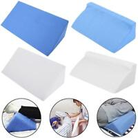 Foam Bed Wedge Acid Reflux Pillow Back Leg Elevation Cushion Support Cover Pad G