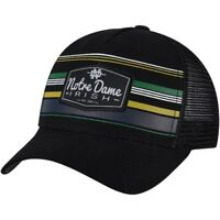 new product f461d 56c59 Notre Dame Fighting Irish Top of the World Route Trucker Adjustable  Snapback Hat
