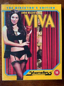 Viva Blu-ray 2008 Cult Horror Movie Shameless Movie BNIB w/ Slipcover