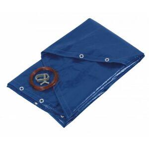 bâche de protection pour piscines rondes 520cm bleue - ribitech