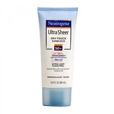 Neutrogena Ultra Sheer Dry-Touch Sunscreen Broad Spectrum Spf 55 3.0 Oz