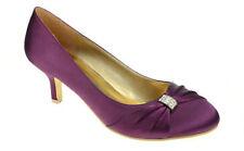 Court Shoes No Pattern Party Kitten Heels for Women