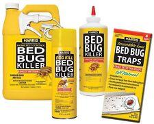 Harris Large Bed Bug Kit Combination Spray Bottles Indoor Bed Bug Killer NEW