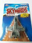 RACING CHAMPIONS Skybirds Die Cast Plane F/A-18 HORNET Marines Gray Grey white