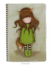 Gorjuss A5 Stitched notebook The Fox by Santoro London
