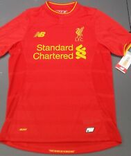 AUTHENTIC LIVERPOOL HOME NEW BALANCE FOOTBALL SHIRT SOCCER JERSEY YOUTH LARGE L