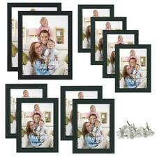 3 Sizes 12 Piece Picture Frames Black Photo Frame Set Wall Hanging and Tabletop