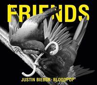 JUSTIN & BLOODPOP BIEBER - FRIENDS (2-TRACK)   CD SINGLE NEW+