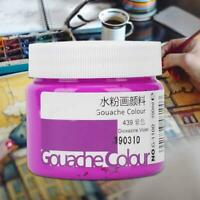 100ml High Quality Watercolor Paint Gouache Pigment Student Art Painting Supply