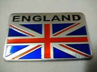 1pc 3D Metal Union Jack Emblem Badge Logo Sticker Trunk Window Side Decal