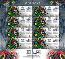 Full sheet stamps Moldova 2019 UN Periodic Table of Chemical Elements MNH