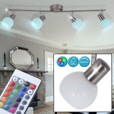 LED Decken Leuchte Schlaf Zimmer Dimmer Spot Lampe verstellbar RGB FERNBEDIENUNG