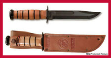 ORIGINAL KA BAR USMC Marine Corps WWII Combat Fighting Straight Edge Blade Knife