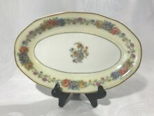 """Theodore Haviland Limoges France AZAY LE RIDEAU Small Oval Serving Plate Dish 9"""""""