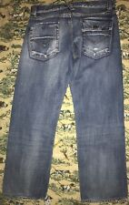 Energie Kirk Jeans Distressed Flap Pocket MSRD 33 X 30 Made in Italy
