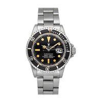 Rolex Submariner Steel Auto 40mm Black Dial Bracelet Mens Watch 1680