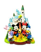 Disneyland Park Plastic Coin Bank Magic Kingdom Collectible Disney Castle Rare