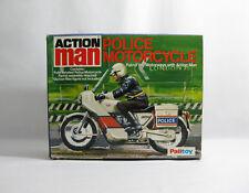NUOVO 1980 S ACTION MAN ✧ Motocicletta della polizia ✧ VINTAGE Palitoy G.I. Joe Nuovo di zecca con scatola