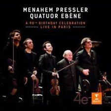 Dvorak & Schubert: Menahem Pressler 90th Anniversary Concert [CD & DVD], New Mus