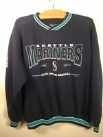 VTG 90s Seattle Mariners MLB Baseball M Sweatshirt Lee Sport Nutmeg Mills Shirt