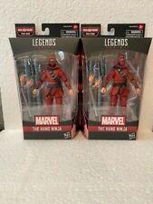 "Marvel Legends 6"" The Hand Ninja Stilt-Man BAF (2) Lot"
