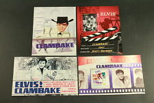 The Elvis Stamp Collection Clambake Mystic Stamp Company 4 Sheets