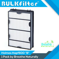 Hapf600 Replacement Hepa+ Filter B for Holmes & Bionaire HAPF600D by BulkFilter