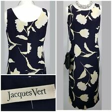 Jacques Vert Dress Wedding Guest Races Occasion Formal Outfit Sleeveless UK 10