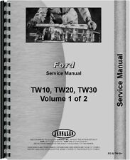 Ford TW10 TW 20 TW 30 Tractor Service Manual (FO-S-TW10+)