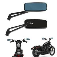 Rectangle Motorcycle Side Mirrors 8mm 10mm For Honda Shadow VLX 600 / Magna 750