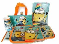 Despicable Me Minions Birthday Party Supplies Party for 8 Plates Napkins Cups