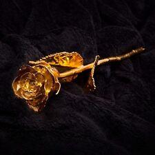 24kt Doré Rose Copine Femme Anniversaire Cadeau st Valentin Romantique Décor