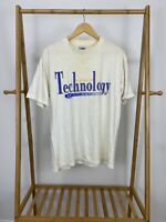 VTG 90s North Carolina A&T State University School Of Technology T-Shirt Size L