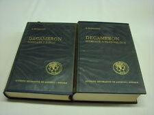 (Boccaccio) Decameron 10 giornate 1962 De Agostini Completo 2 volumi