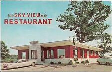 Sky View Restaurant in Krumsville PA Postcard