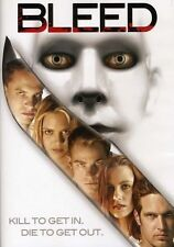 Bleed (DVD, 2002) DEBBIE ROCHON BRINKE STEVENS JULIE STRAIN NUDITY RATED R