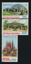 Indonesia Scott # 1408-10 MNH Architecture