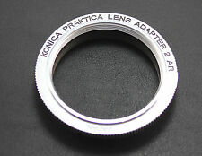 Genuine M42/Pentax Screw Mount to KONICA AR Mount Adapter