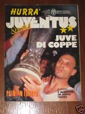 HURRA' JUVENTUS 1990 SPECIALE VITTORIA COPPA UEFA E ITA
