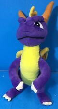 "11"" tall plush stuffed purple Spyro the Dragon Toy Network 2003 - JA67"