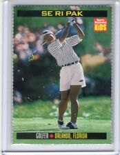 1998 Sports Illustrated Si Kids Sifk golf SE RI PAK Lpga