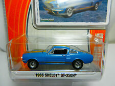 1:64 GreenLight *GL MUSCLE R12* Sapphire Blue 1966 Shelby GT-350H  *NIP*