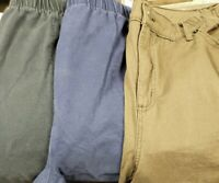 Denim & Company Women's Bermuda Length Shorts, Size 1x Lot Of 3