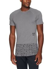NWT Under Armour Perpetual Graphic Short Sleeve XL Grey $80