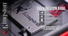 "Kingston A400 480GB 2.5"" SSD Interno (SA400S37/480G)"