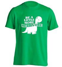 be a little more herbivore, t-shirt vegetarian vegan food healthy political 6403